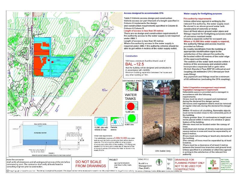 Bushfire Report-Main Retail precinct 105-109 Grampians Rd, Halls Gap